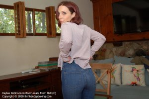 Firm Hand Spanking - Room-mate From Hell - C - image 5