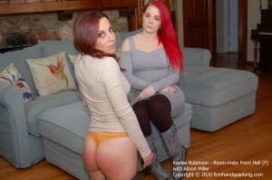Firm Hand Spanking - Room-mate From Hell - F - image 5