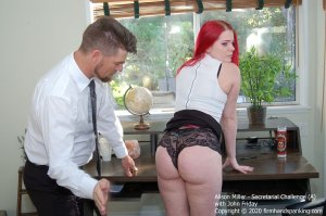 Firm Hand Spanking - Secretarial Challenge - A - image 3