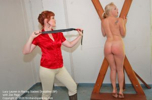 Firm Hand Spanking - Racing Stables Discipline - Bp - image 2