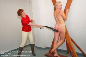 Firm Hand Spanking - Racing Stables Discipline - Bp - image 1