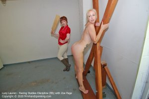 Firm Hand Spanking - Racing Stables Discipline - Bs - image 9