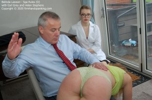Firm Hand Spanking - Spa Rules - O - image 4