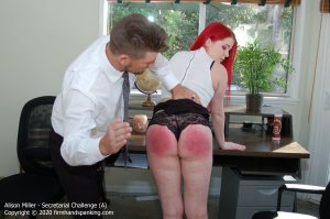 Firm Hand Spanking - Secretarial Challenge - A - image 6