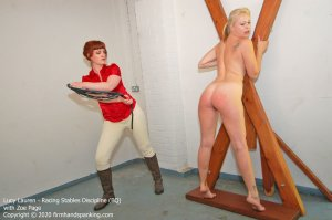 Firm Hand Spanking - Racing Stables Discipline - Bq - image 2