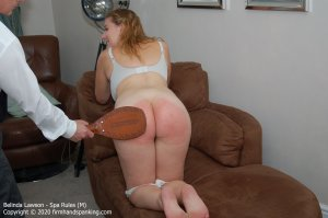 Firm Hand Spanking - Spa Rules - M - image 7