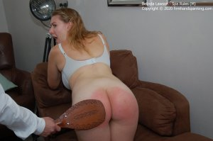 Firm Hand Spanking - Spa Rules - M - image 4