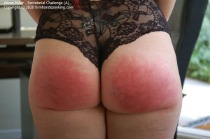 Firm Hand Spanking - Secretarial Challenge - A - image 8