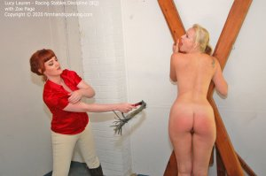 Firm Hand Spanking - Racing Stables Discipline - Bq - image 7