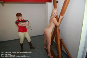 Firm Hand Spanking - Racing Stables Discipline - Bp - image 7