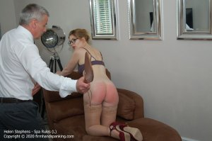 Firm Hand Spanking - Spa Rules - L - image 2