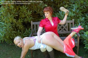 Firm Hand Spanking - Racing Stables Discipline - Bn - image 6