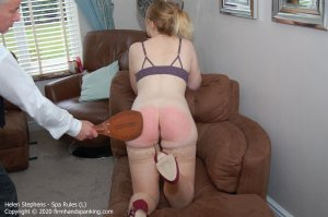 Firm Hand Spanking - Spa Rules - L - image 1