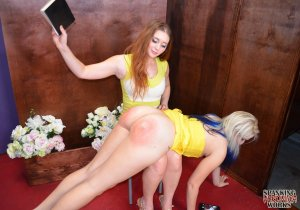 Spanking Veronica Works - Spanked By Church Counselor - image 1