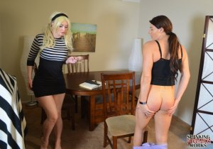 Spanking Veronica Works - Groundhogs Day Spanking - image 4