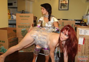 Spanking Veronica Works - Space Girl Spanking - image 4