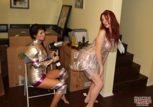 Spanking Veronica Works - Space Girl Spanking - image 3