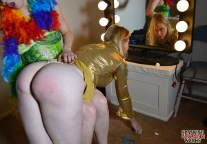 Spanking Veronica Works - Makeup Artist Spanking Part 2 - image 7