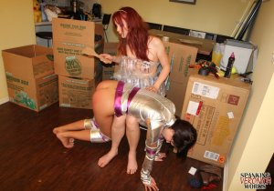 Spanking Veronica Works - Space Girl Spanking - image 6
