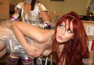 Spanking Veronica Works - Space Girl Spanking - image 9