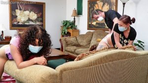 Real Spankings - Sneaking Out During Quarantine (part 3) - image 2