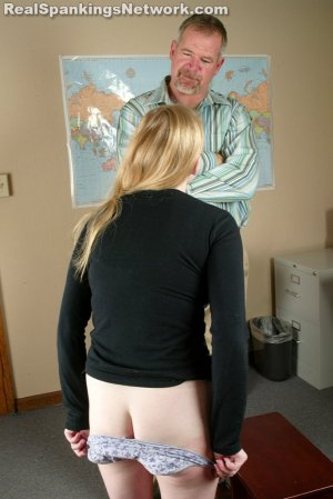 Real Spankings - Renee: Spanked After She Is Caught Smoking - image 4