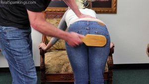 Real Spankings - Paddled For Leaving During Home Quarantine - image 6
