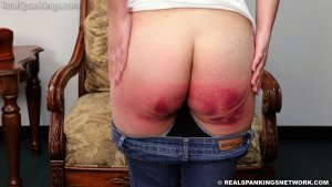 Real Spankings - Paddled For Leaving During Home Quarantine - image 8