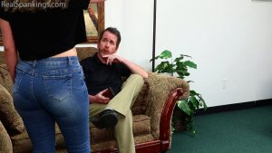Real Spankings - Anastasia Is Paddled At School, Punished At Home (part 1 Of 2) - image 3