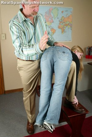 Real Spankings - Renee: Spanked After She Is Caught Smoking - image 8