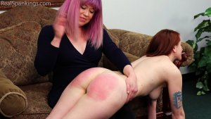 Real Spankings - Punishment Profile: Evyn - image 1