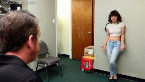 Real Spankings - Caught Shoplifting (part 1) - image 1