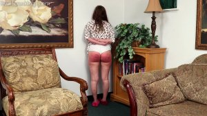 Real Spankings - Anastasia Is Paddled At School, Punished At Home (part 2 Of 2) - image 2