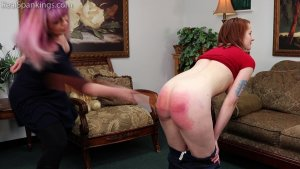 Real Spankings - Bare Breasted Punishment: Evyn - image 3