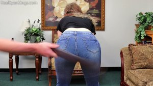 Real Spankings - Anastasia Is Paddled At School, Punished At Home (part 1 Of 2) - image 9