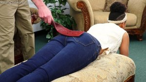 Real Spankings - Arella: Punished In The Living Room - image 3