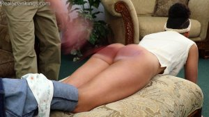 Real Spankings - Arella: Punished In The Living Room - image 5