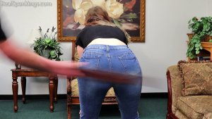 Real Spankings - Anastasia Is Paddled At School, Punished At Home (part 1 Of 2) - image 8