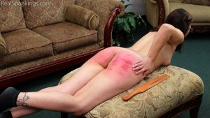 Real Spankings - Harlan's Otk And Strapping By Miss Betty (part 2 Of 2) - image 4