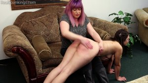 Real Spankings - Harlan's Otk And Strapping By Miss Betty (part 1 Of 2) - image 2