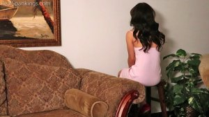 Real Spankings - Kiki Spanked Otk For Staying Up Late - image 8