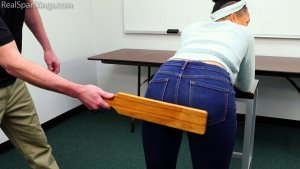 Real Spankings - School Swats: Arella - image 5