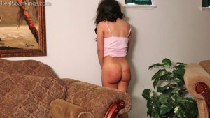 Real Spankings - Kiki Spanked Otk For Staying Up Late - image 9