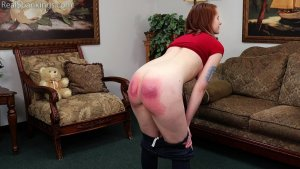 Real Spankings - Bare Breasted Punishment: Evyn - image 6