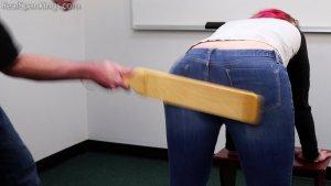 Real Spankings - Michelle's School Swats - image 6