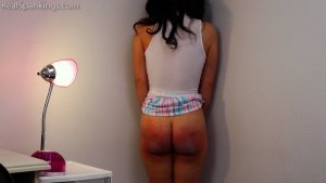 Real Spankings - Kiki Learns A Proper Lesson About Respect And Attitude (part 2) - image 2