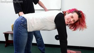 Real Spankings - Michelle's School Swats - image 2