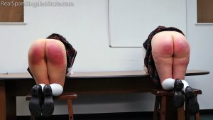 Real Spankings Institute - Kiki And Anastasia: Caught Without Panties (part 3) - image 3