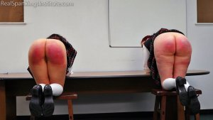 Real Spankings Institute - Kiki And Anastasia: Caught Without Panties (part 2) - image 7