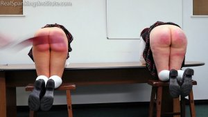 Real Spankings Institute - Kiki And Anastasia: Caught Without Panties (part 3) - image 8